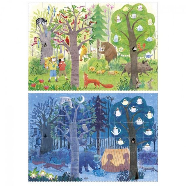 A LONDJI Puzzle - Νύχτα-Μέρα στο Δάσος