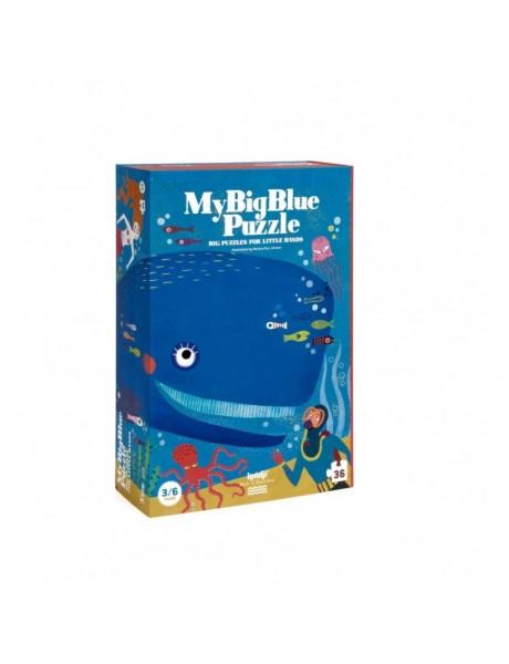 A Londji Puzzle - MY BIG BLUE PUZZLE