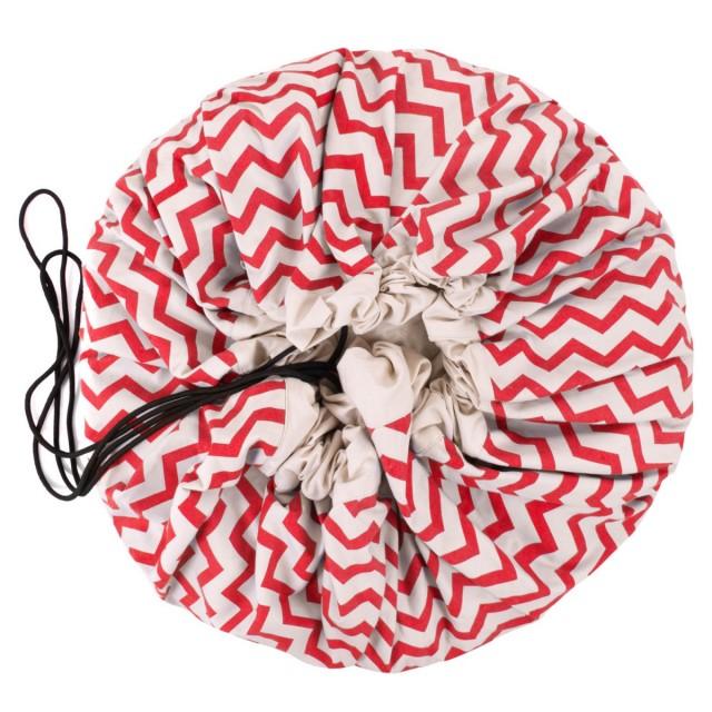 Τσάντα Αποθήκευσης - ZIGZAG RED
